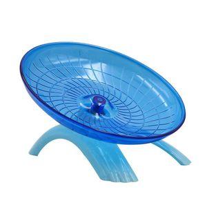 QHshop Hamster Laufrad Spielzeug Haustier Hamsterrad Fliegende Untertasse Übungsmaus Laufscheibe Käfig Spielzeug