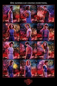 Pyramid Stranger Things Character Montage Poster 61x91.5cm.