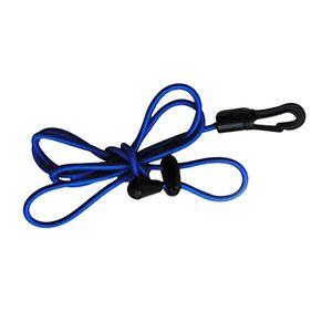 120cm Paddelsicherungsleine für Doppelpaddel und Stechpaddel Farbe Blau