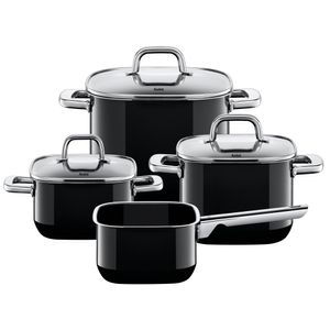 Silit Quadro Black 4-teilig Topfset