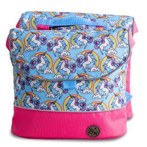 BAMBINIWELT Gepäcktasche, Gepäckträgertasche für Fahrrad, Fahrradtasche für Kinder, wasserabweisend, Modell 4