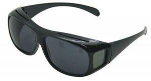 GKA polarisierende Überbrille Sonnenbrille Brillenträger 100% UV Schutz Damen Herren Brille