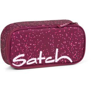 Satch Schlamperbox Berry Bash, Farbe/Muster: Beere rosa gesprenkelt