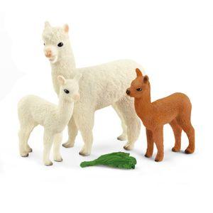 Schleich Wild Life Alpakafamilie