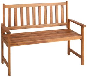 Countryside®  Holzbank, 2 Personen, max. Belastung 220kg, Akazienholz