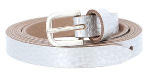 Vanzetti Chain Reaction 15mm Metallic Belt W90 Silver Metallic