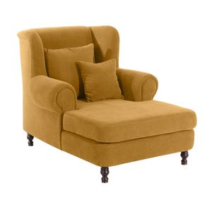 Max Winzer Mareille Big-Sessel inkl. 2x Zierkissen 55x55cm + 40x40cm - Farbe: mais - Maße: 103 cm x 149 cm x 103 cm; 2902-754-2051766-F07