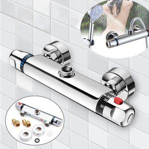 Duscharmatur Duschthermostat Design Thermostat Mischbatterie für Dusche Armatur