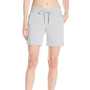 Frauen Sommer Casual Shorts Elastische Taille Sport Yoga Strand Kurze Hose Beach Shorts,Farbe:Hellgrau,Menge:XXL