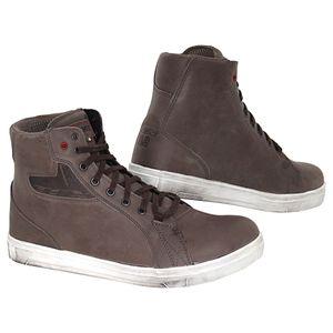 TCX STREET ACE Motorradstiefel  Leder Sneaker Boots Motorrad Schuhe wasserdicht, Größe:45