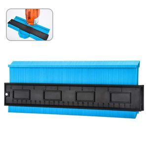 Konturenlehre Groß Konturmessgerät  Kontur Duplikator Werkzeug Messgeräte Profil Vervielfältigungslehre Kopierlehre Markierungswerkzeug Laminat Fliesen Markierwerkzeug (Blau)