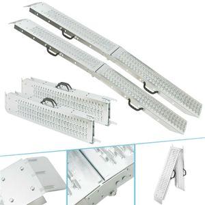 2x AREBOS faltbare Stahlrampen 180 cm - direkt vom Hersteller