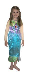 RUBIE'S Arielle Glitter SleeChild, Größe M