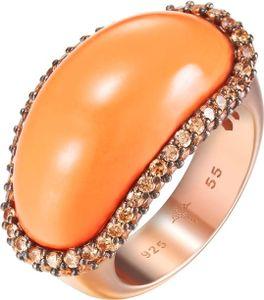 Joop! Jewelry Coral JPRG90706C Damenring Epoxy Einlage, Ringgröße:57 / 8