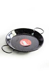 'Vaello' Paellapfanne (24cm) - schwarz emailliert