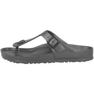 BIRKENSTOCK Gizeh Herren Zehentrenner Grau Schuhe, Größe:40