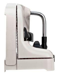 Brotschneidemaschine, mit Handkurbel
