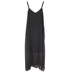 Damen Chiffon V-Ausschnitt Maxikleid Sommerkleid Strandkleid Abendkleid Kleid