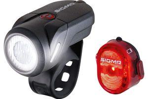 Sigma Sport Lichtset Vorne + Hinten Aura 35 + Nugget Ii