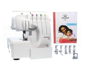 GRITZNER 788 Overlock Special Edition: LED Beleuchtung + Handbuch