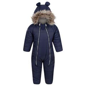 Regatta Kinder Schneeanzug Panya RG4637 (6-12 Monate (80)) (Marineblau)