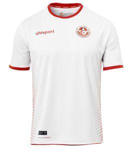uhlsport Tunesien WM 2018 Heim Trikot weiß/rot S