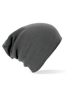 Slouch Beanie Wintermütze - Farbe: Smoke Grey - Größe: One Size