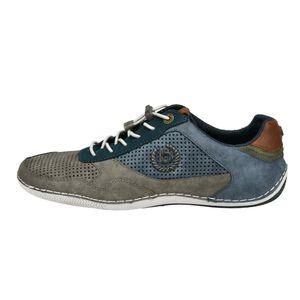 bugatti Herren Sneaker Sneaker Low Synthetik grau 42