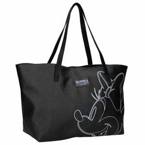 Disney strandtasche/Shopper Minnie Mouse 33 Liter Polyester schwarz