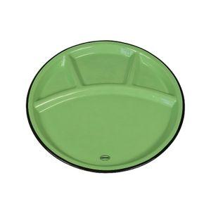 Cabanaz teller Fondue 24 cm Keramik grün