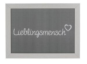 Out of the Blue Kissen-Tablett, Lieblingsmensch, ca. 43 x 32,5 cm