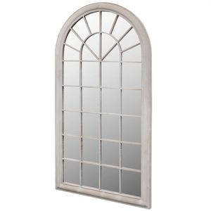 vidaXL Rustikaler Gartenspiegel Bogen 60×116 cm für Indoor und Outdoor