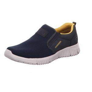 Rieker Herren-Sneaker Ozean-Schwarz-Blau, Farbe:blau, EU Größe:40