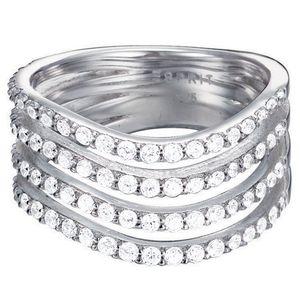 Esprit ESRG92823A Damen Ring esprit-jw50010  Silber weiß 60 (19.1)