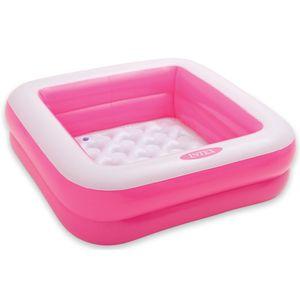 Intex 57100 Planschbecken Pool Babypool 85 x 85 x 23 cm grün oder pink