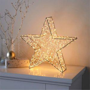 LED Stern Weihnachtsstern Weihnachtsdeko Beleuchtet Adventsstern Comet 30 cm