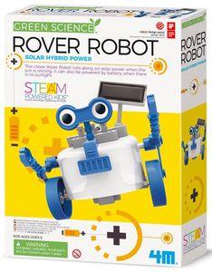 4M KidzLabs Roboter Rover blau/weiß 28 cm