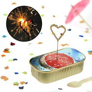Rührkuchen in der Dose zum Geburtstag, Dosenkuchen Happy Birthday, Kuchen in der Dose, Wondercake, Geschenk zum Geburtstag
