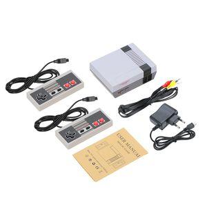 Retro Mini TV Handheld Familie Erholung Videospielkonsole Eingebaute 500 Klassische Verschiedene Spiele Dual Gamepad Gaming Player Beste Geschenk EU Plug