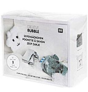 Rico Design Strickset Creative Bubble Bath Seifensäckchen Hase und Katze