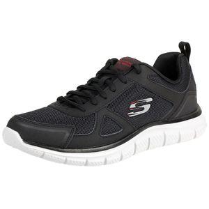 Skechers Sport Mens TRACK SCLORIC Sportschuhe/Laufschuhe Herren Schuhe Schwarz, Schuhgröße:46 EU