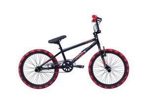 20' 20 ZOLL BMX Freestyle Kinderfahrrad Kinder Jungen Jugend Mädchen Fahrrad Bike Rad 360 ROTOR Pegs ROCK Schwarz