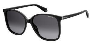 Polaroid sonnenbrille 6096/S807/WJ Damen rund schwarz/grau