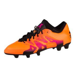 adidas X 15.1 FG/AG orange-schwarz-pink, Schuhgröße UK (D):11.0 (46.0)