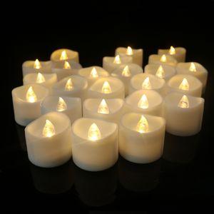 Lumiereholic 6er Set LED Kerzen Lichter mit Timer flammenlos Kerze Teelichter flackernde batterie,warmweiß Hochzeit Party Weihnachtsdekoration