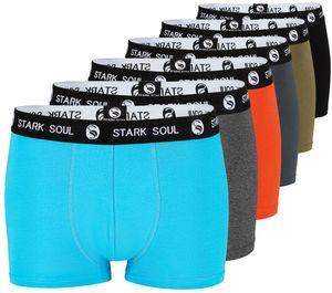 Stark Soul® Boxershorts im 6er Pack - Hipster L Gemischt