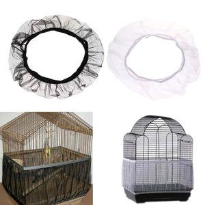 Vogelkäfig-Netzabdeckung Mesh-Vogelfutter-Schutzgitter-Netzabdeckung Kleidung S Weiß wie beschrieben