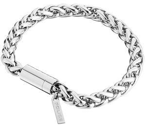 Police Herren Armband Temptation II PJ25135BSS-01-S Edelstahl 19 cm