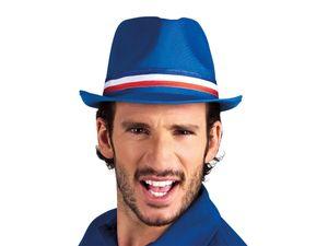 Frankreich Trilby Partyhut Fußball Fanartikel