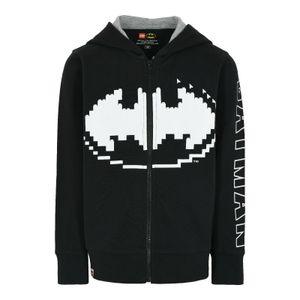 LEGO® Wear Movie 2 Batman® Jungen Sweatjacke, Größe:134, Präzise Farbe:Schwarz